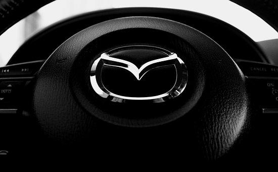 Steering Wheel, Mazda Cx5, Mazda, Car