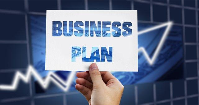 经营理念, 规划, 商业计划书, 业务, 行政, 手, 保持, 名片, 计划
