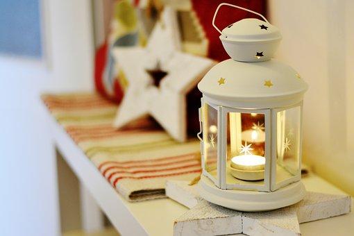 Lantern, Light, Christmas