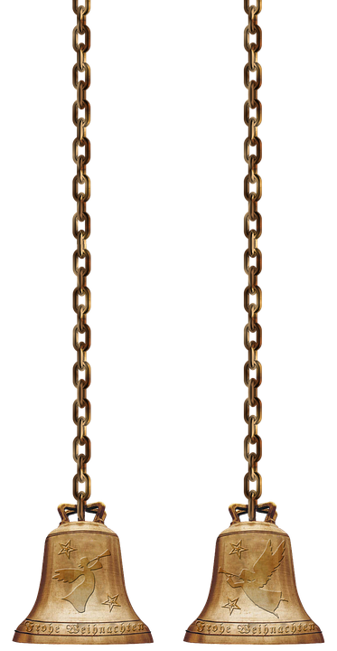 Christmas Chain Png.Bells Chains Isolated Free Photo On Pixabay