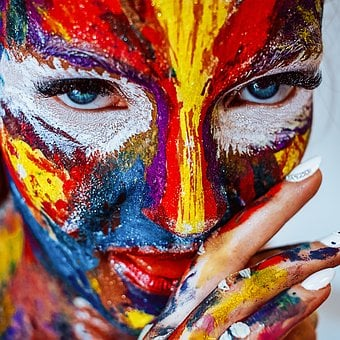 Maling, Makeup, Jente, Kosmetikk, Farge
