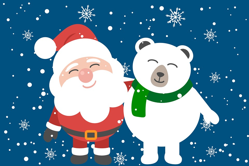Santa Eisbär Weihnachten · Kostenloses Bild auf Pixabay