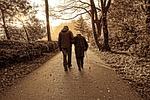 people, couple, elderly