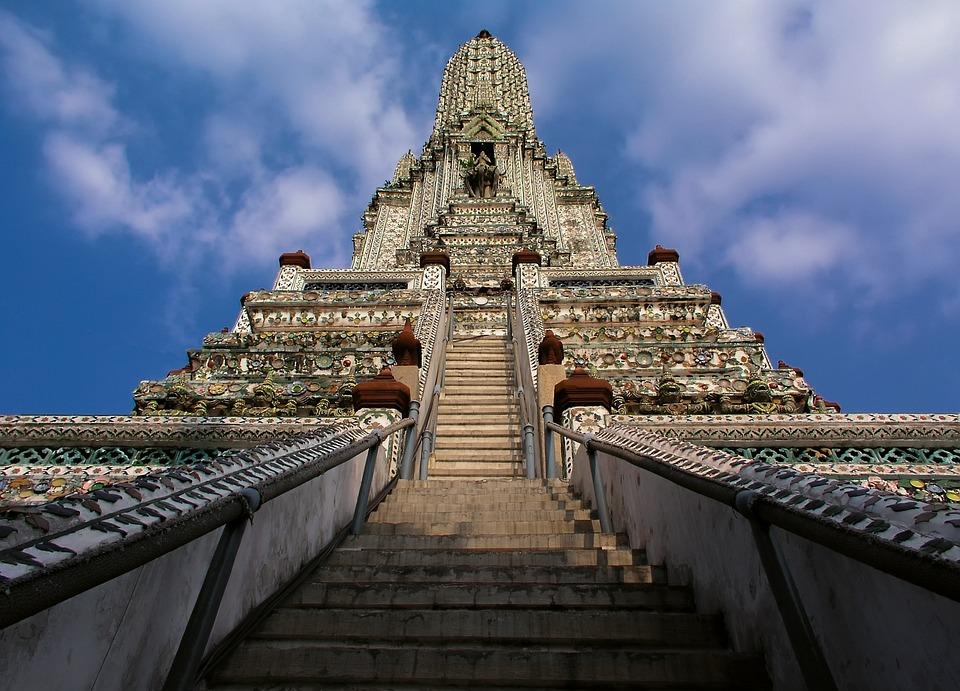 Wat Arun, Thailandia, Bangkok, Costruzione
