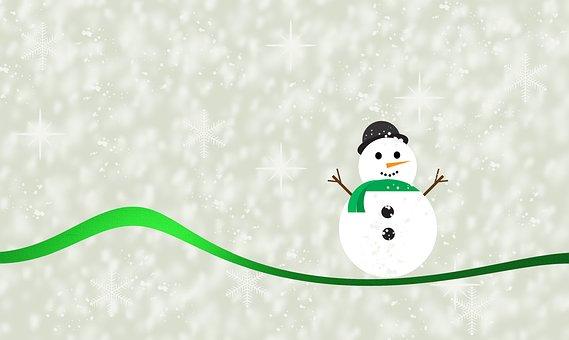 Schneemann, Winter, Schnee, Kalt