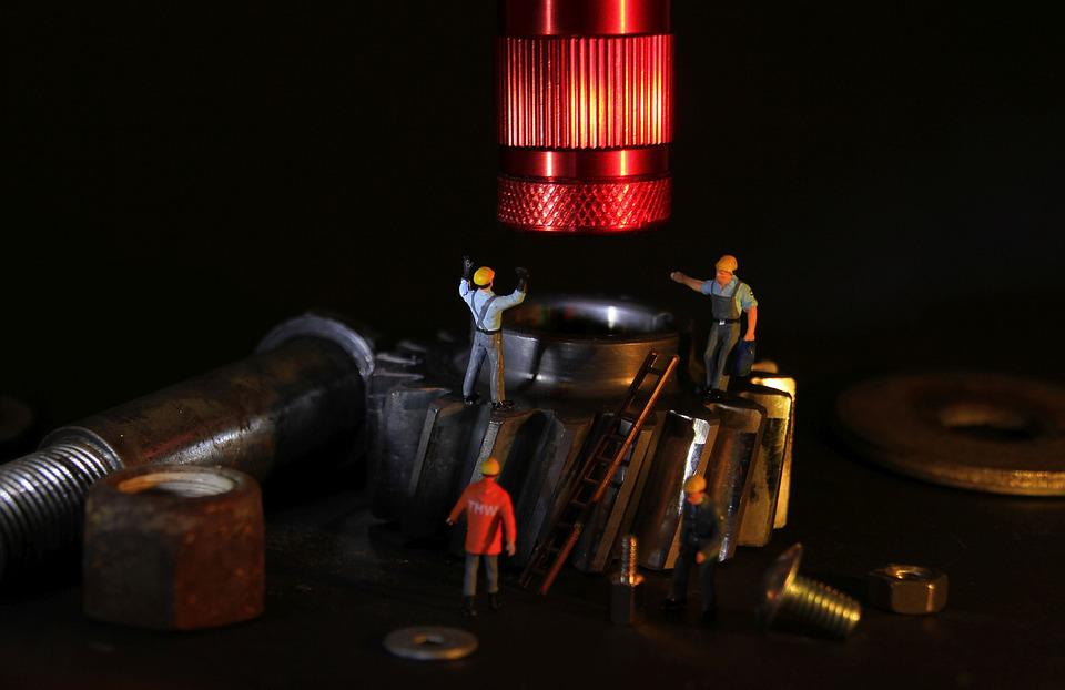machinery servicing