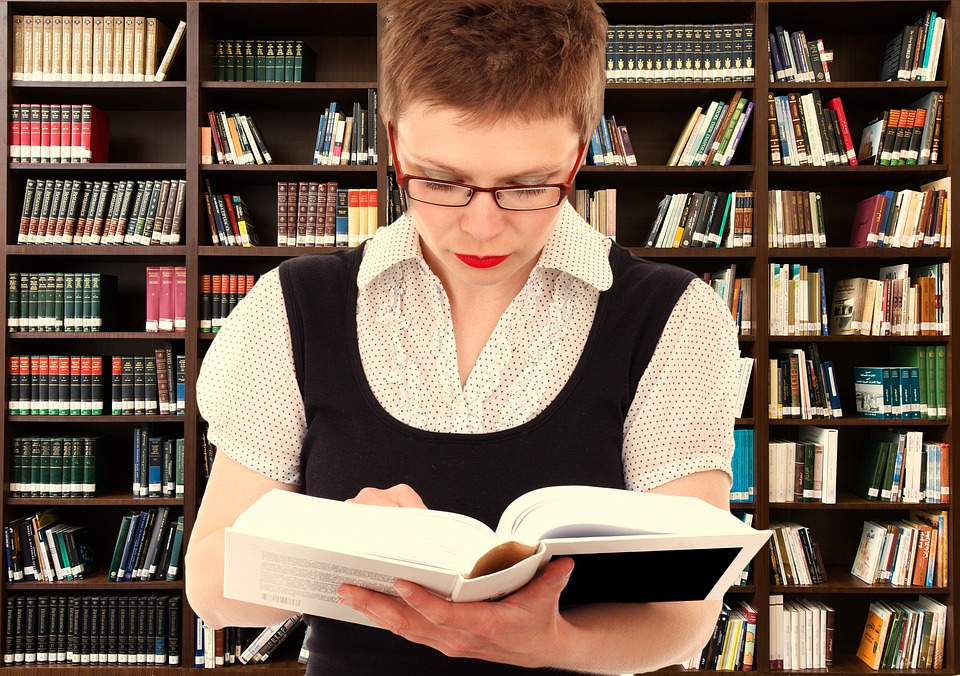 Free photo woman person read head free image on pixabay woman person read head bookshelf know information voltagebd Images