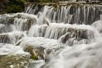 waterfall, flow, water