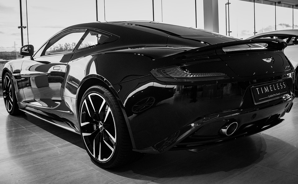 Aston Martin Vanquish Black V Free Photo On Pixabay - Black aston martin vanquish