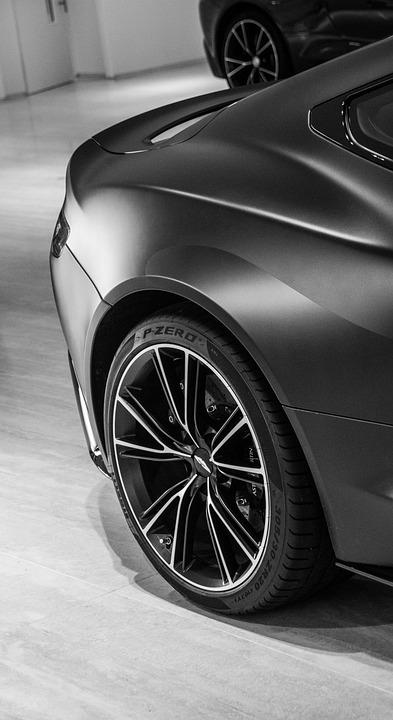 Aston Martin Vanquish Black Wheel Free Photo On Pixabay - Aston martin vanquish black