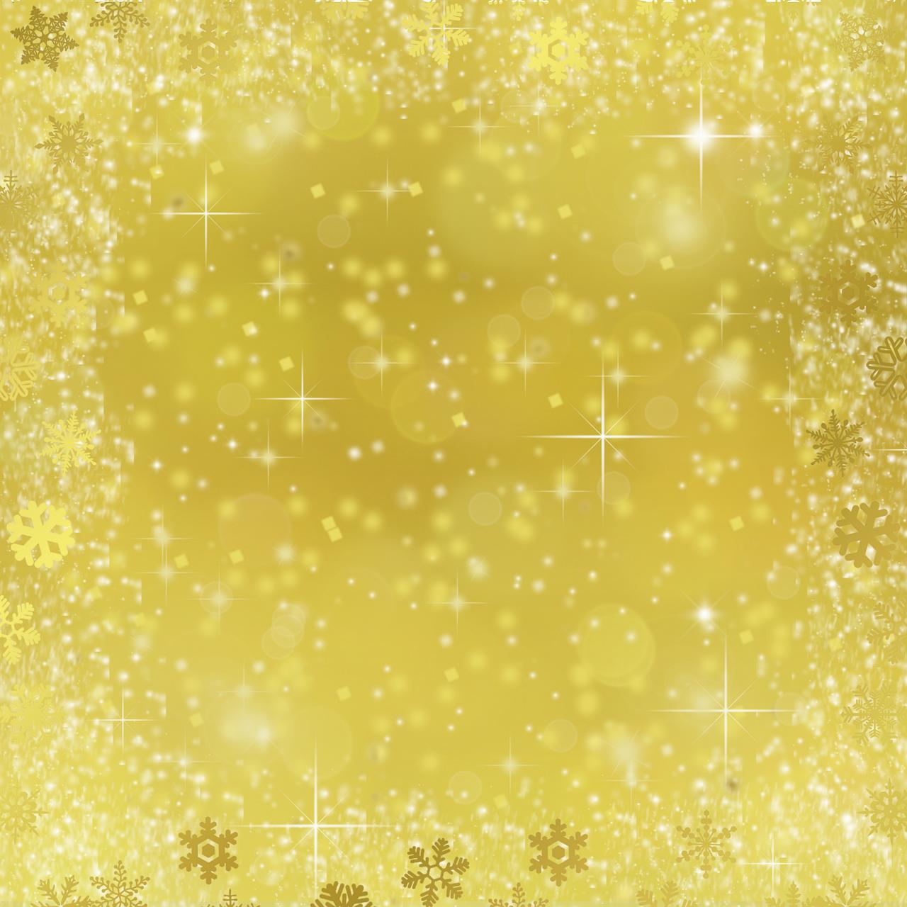 Открытка с золотым фоном 793