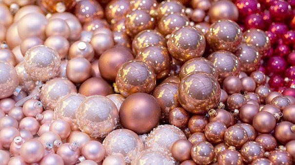 Christmas Balls, Pink, Christmas Time