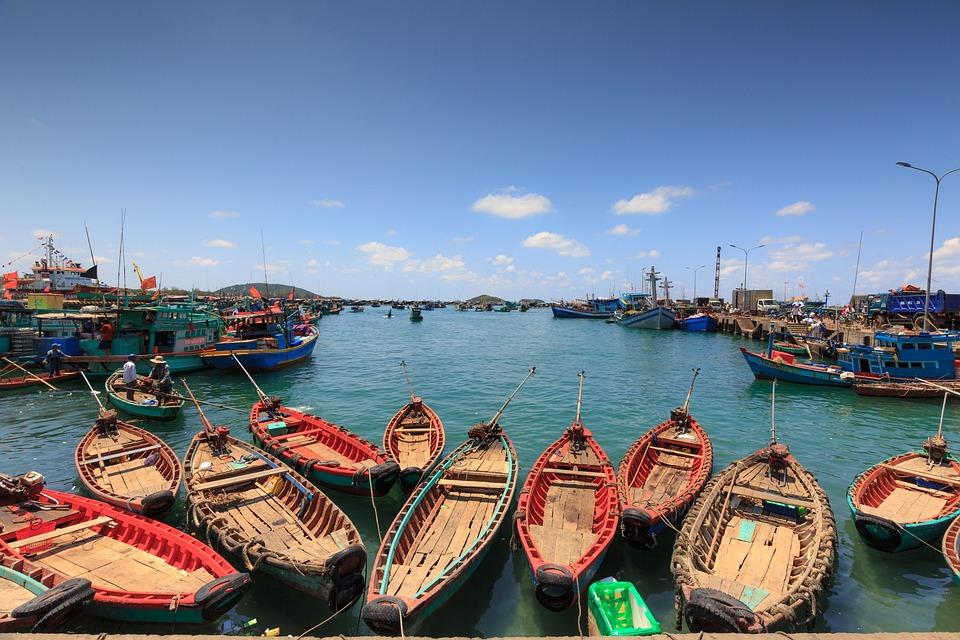 Fishermen in Phu Quoc Island