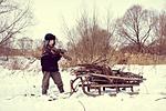 winter, war, difficult time
