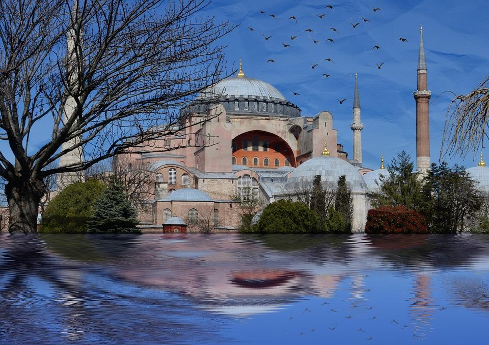 Istanbul, Sainte Sophie, Sultanahmet, Paysage