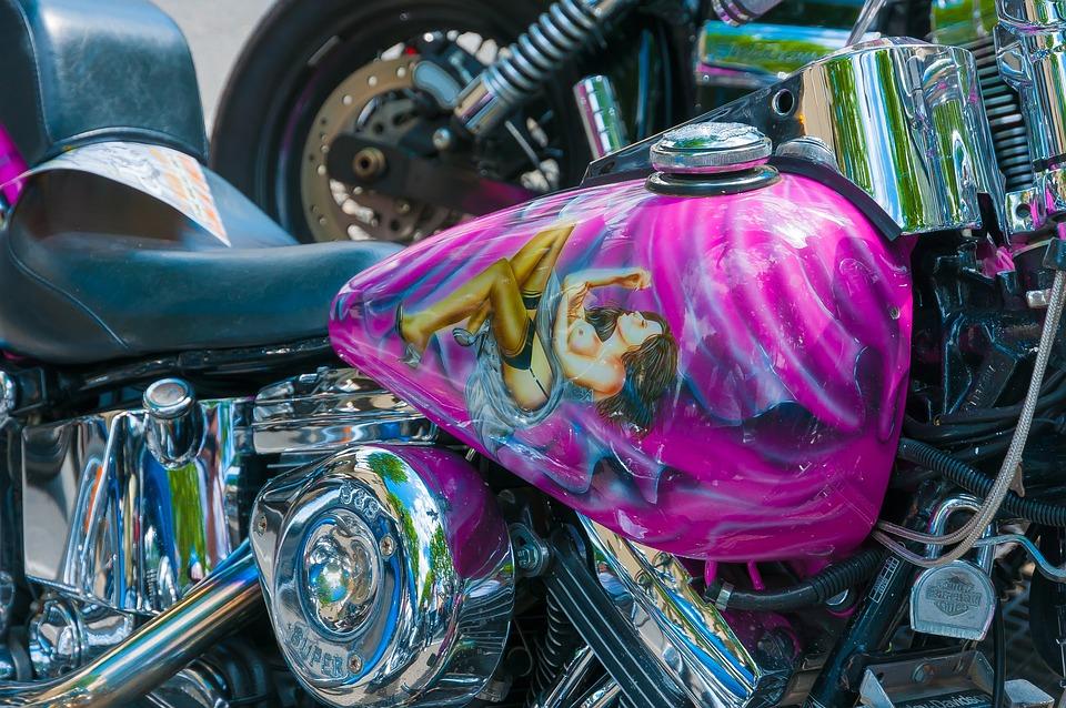 Harley Tank Boyama Pixabayde ücretsiz Fotoğraf