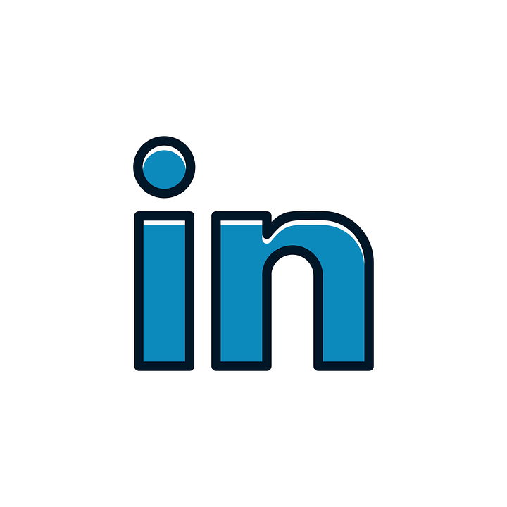 linkedin icon free vector graphic on pixabay