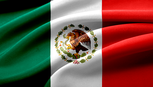 Mexican Flag, Flag, Mexico, Coat Of Arms