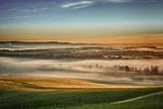 nature, fog, landscape