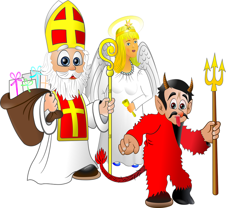 Mikuláš Teufel Engel Kostenloses Bild Auf Pixabay