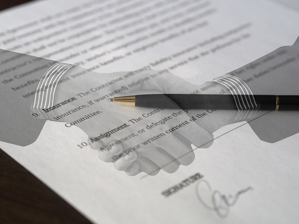 Contract Agreement Signature Free Photo On Pixabay