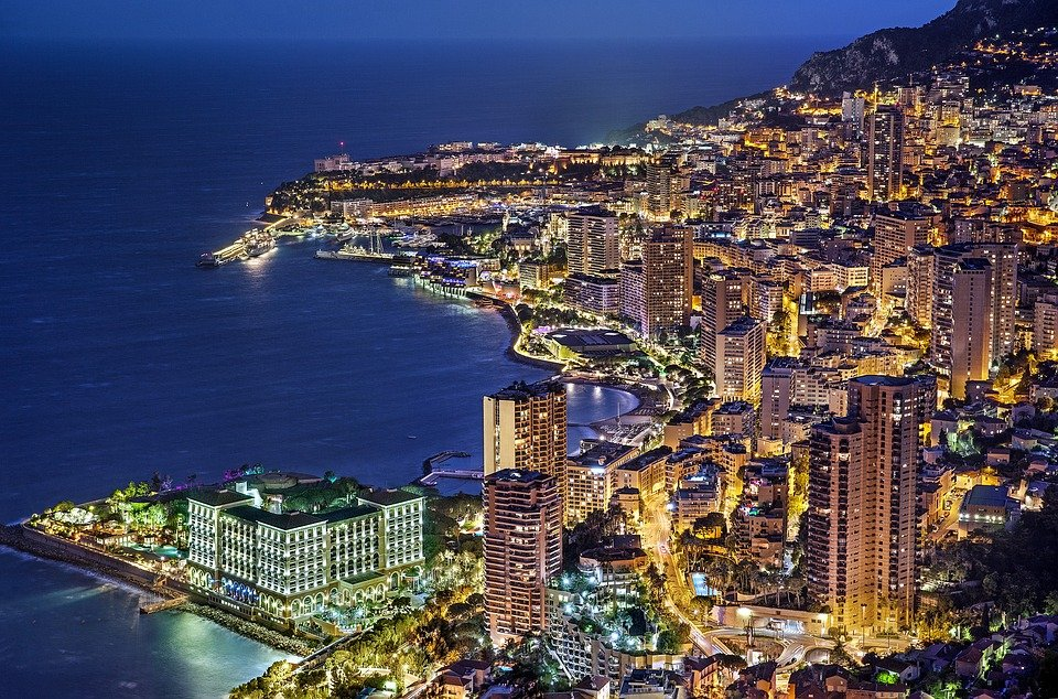 Monaco monte carlo france free photo on pixabay monaco monte carlo france evening blue hour publicscrutiny Choice Image