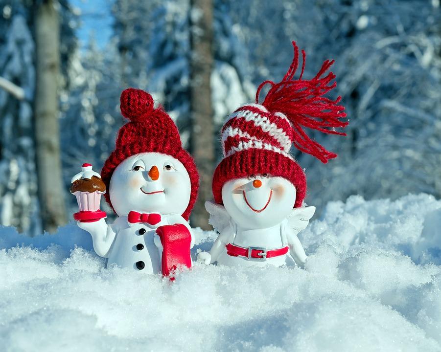 Photo gratuite bonhommes de neige fun figure image - Photos de neige gratuites ...