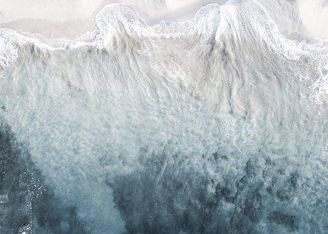 Ocean, Drone, Art, Water, Mavic, Dji
