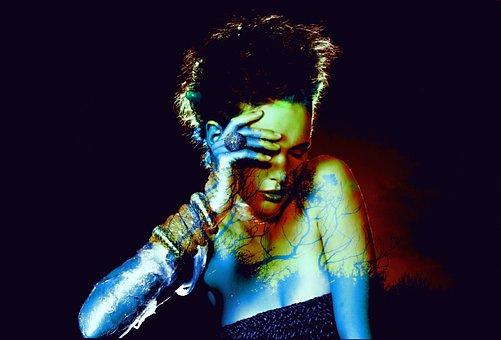 People, Dark, Performance, Artistic