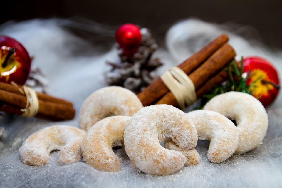 Christmas Vanillekipferl Cookies Free Photo On Pixabay