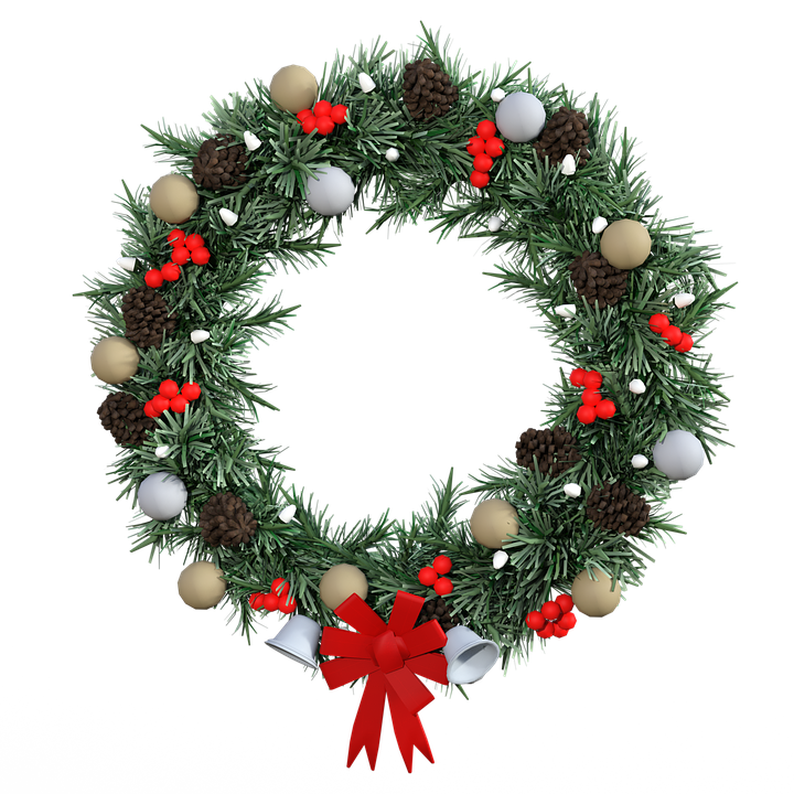 Wreath, Christmas Decoration, Decoration, Deco, Advent