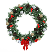 Free vector graphic wreath christmas decoration reed for 180 degrees christmas decoration
