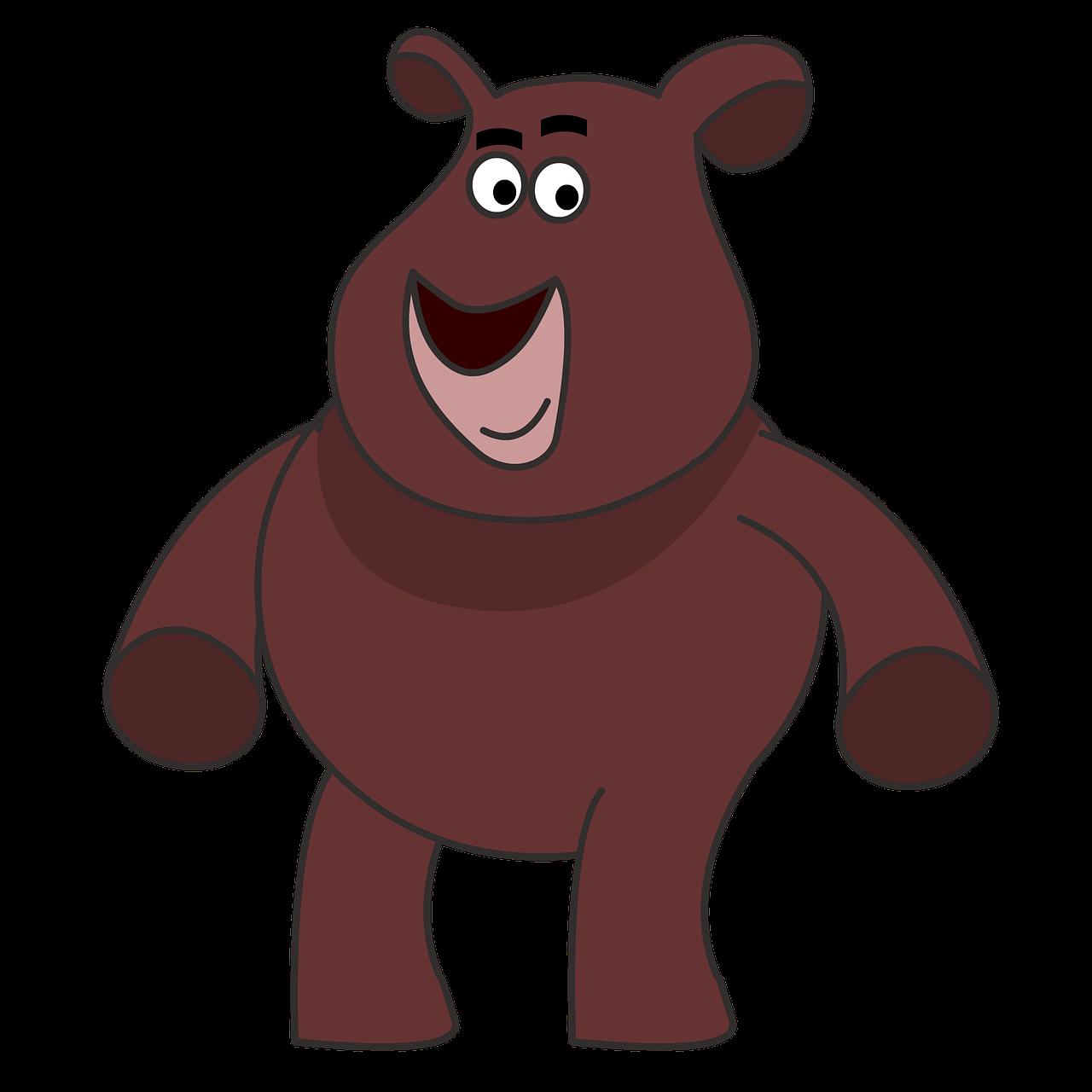 Teddy Kartun Lucu Gambar Gratis Di Pixabay