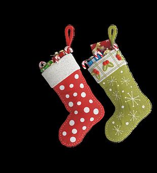 Christmas Stockings, Christmas, Holiday
