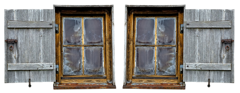 Wooden Windows Wood Shop Old 183 Free Photo On Pixabay