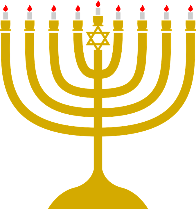 Hanukkah Light Candle Free Vector Graphic On Pixabay