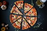 pizza, żywności, włoski