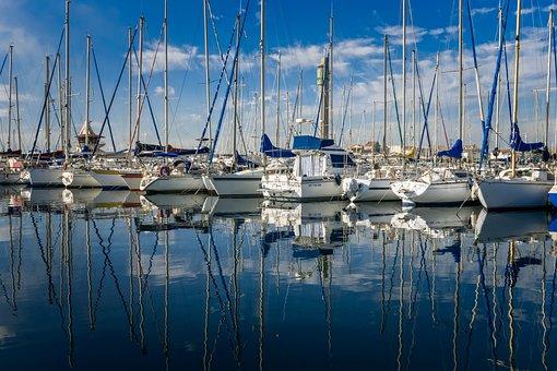 Port, Ship, Boat, Marina, Yacht, Anchor