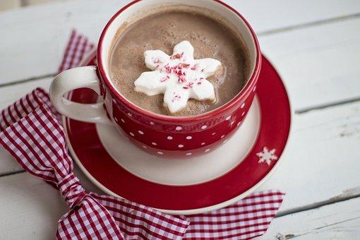 Hot Chocolate, Cocoa, Christmas, Mug