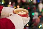 christmas, santa, cocoa