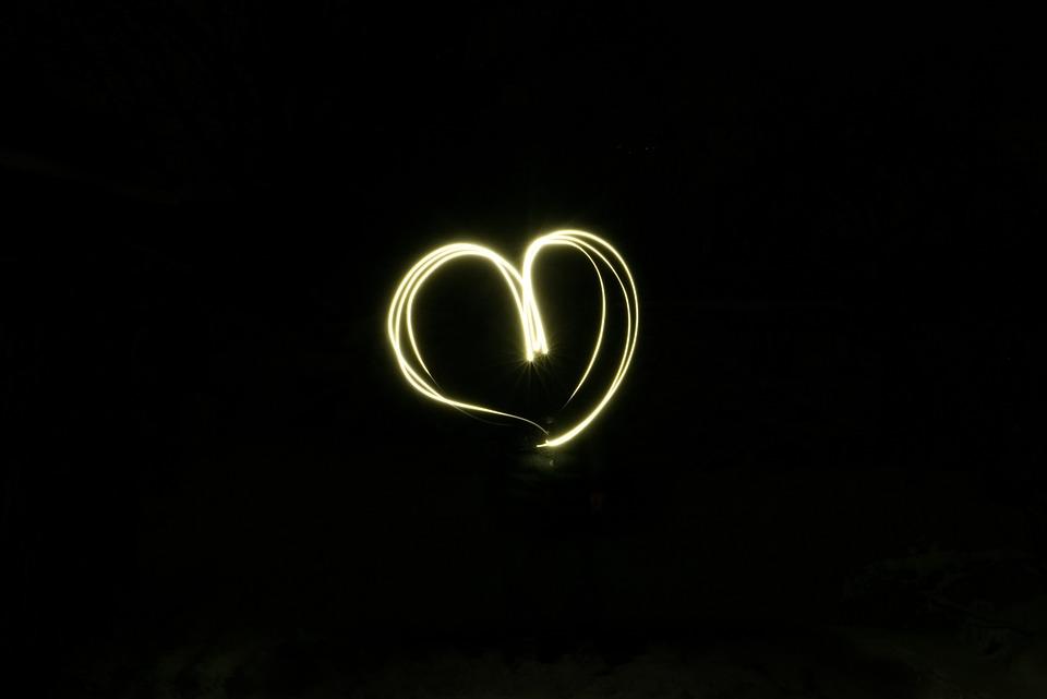 Uzun Pozlama Buyuk Diyafram Kalp Pixabay De Ucretsiz Fotograf