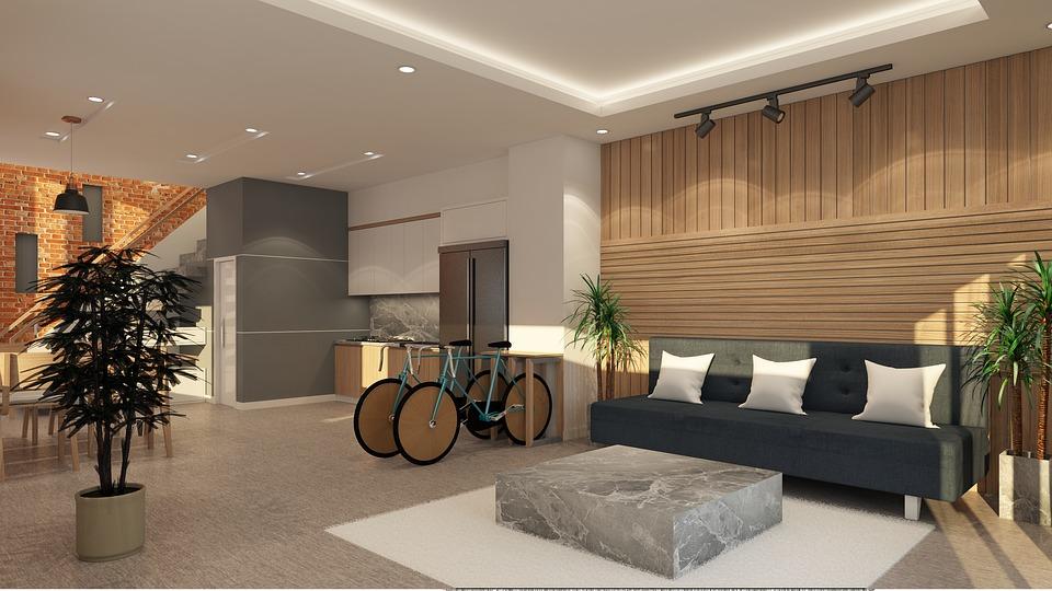 Innenraum Innenarchitektur Interieur Modernes Design