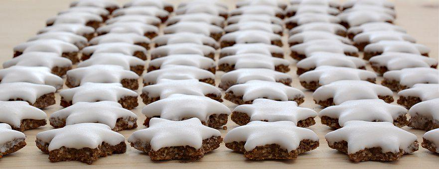 Zimtstern, Christmas Cookies, Christmas