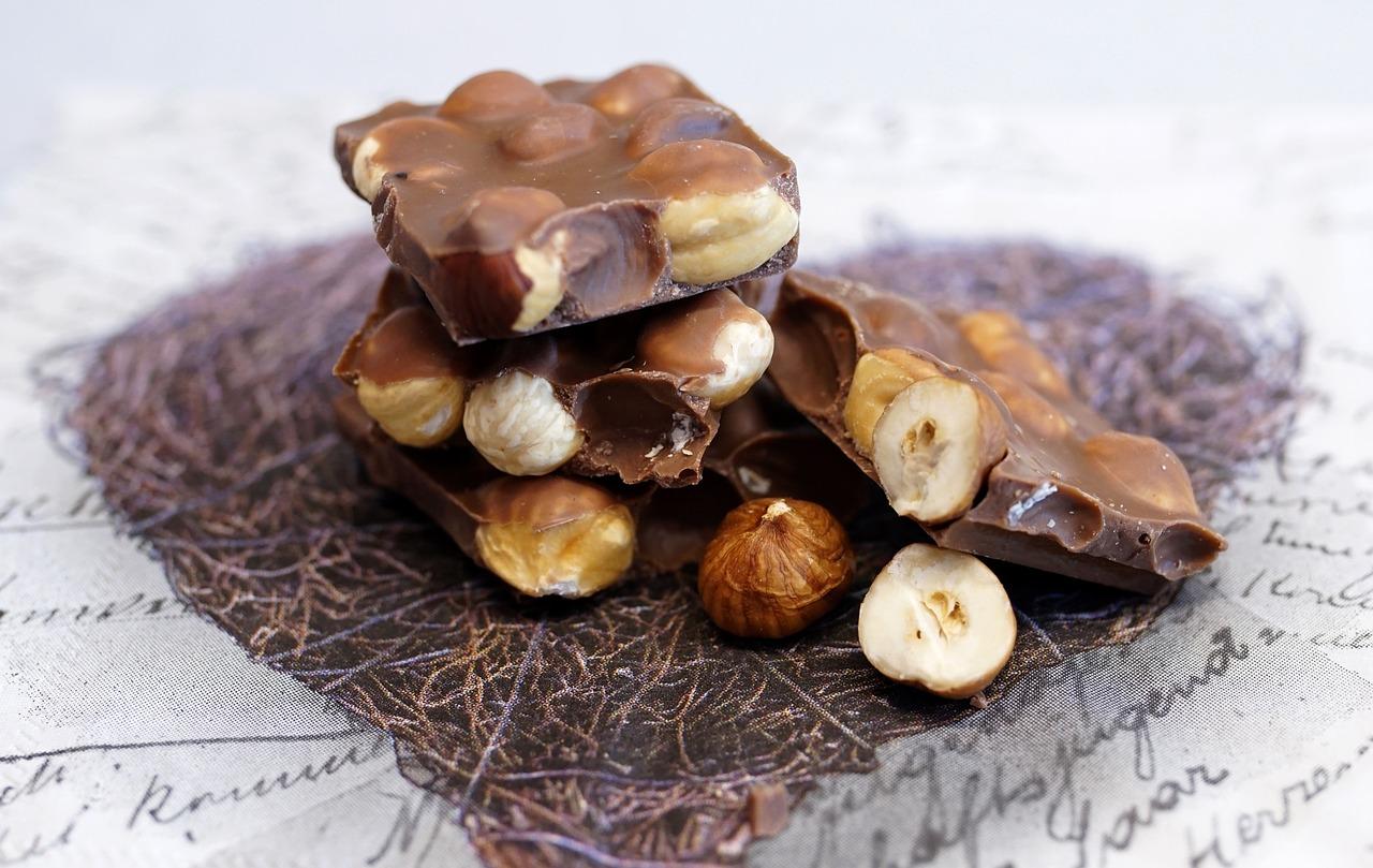 картинки шоколадки с орешками гостевой