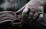 book, read, hand