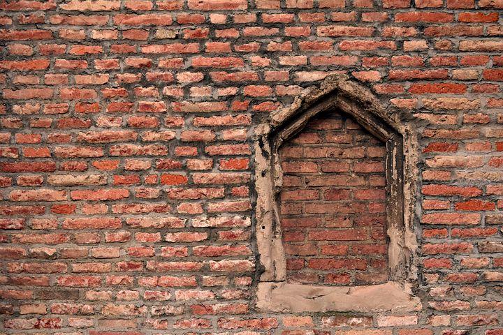 фото кирпичная стена окно