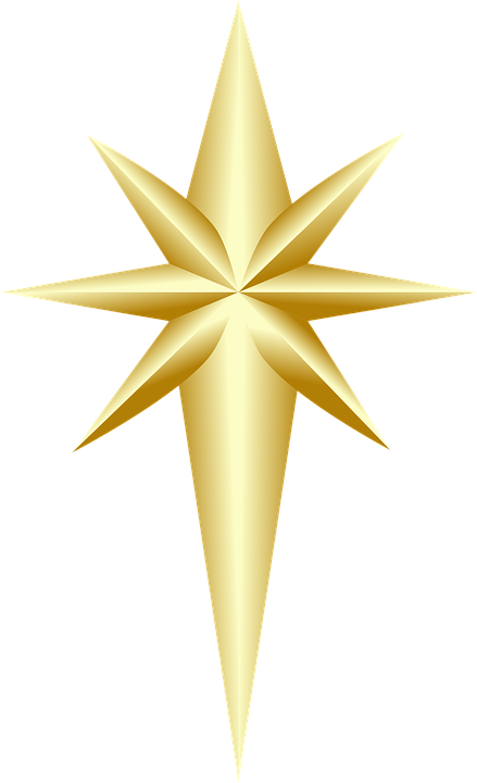 Christmas Tree Topper Ornament Free Vector Graphic On Pixabay