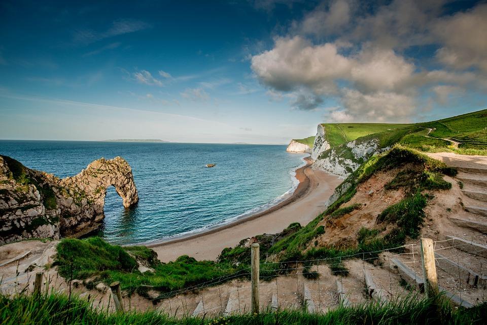 Tengeri, Cornwall, Coast, Tengerpart, Víz, Kék, Beach