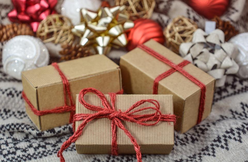 Рождество, Подарок, Новый Год, Праздники, Настоящий