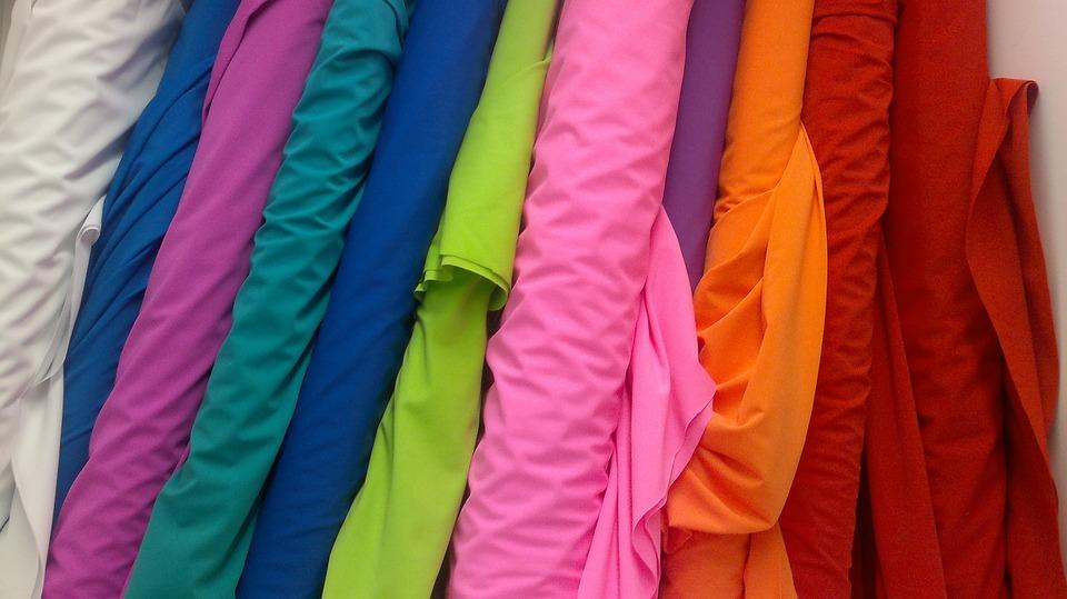 ผ้า, โครงสร้างแฟชั่น, แข็งของโครงสร้าง, สีทึบผ้า